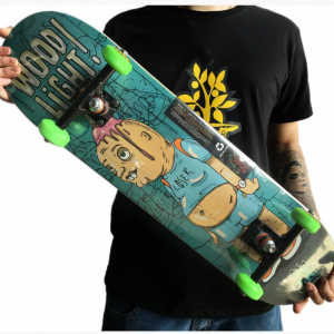 SKATE MONTADO WOOD LIGHT LOSER