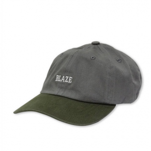 BONE BLAZE SUPPLY STRAPBACK BICOLOR GREY