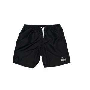 SHORTS BLAZE SUPPLY LOGO BLACK