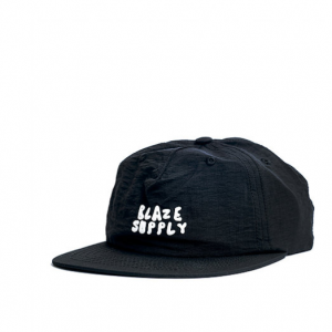 BONE BLAZE SUPPLY STRAPBACK GOSM BLACK