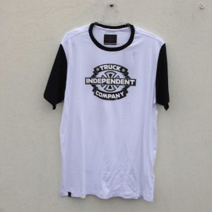 CAMISETA INDEPENDENT TRUCK CO GARAGE WHITE