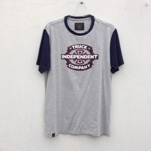 CAMISETA INDEPENDENT TRUCK CO GARAGE GREY