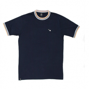 CAMISETA BLAZE SUPPLY STRIPE PIPE EMBROIDERY PRETA