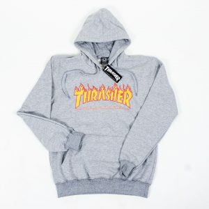 MOLETOM THRASHER FLAME LOGO