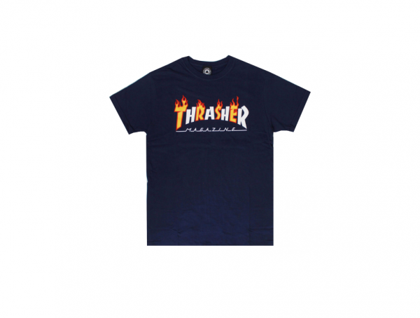CAMISETA THRASHER FLAME MAG