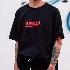 CAMISETA ARQA BOX LOGO