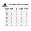 Tabela de medidas tênis adidas