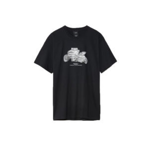 CAMISETA HUF CRIMINOLOGY PRETO