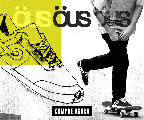 Tênis Ous é na Arqa Skate Shop